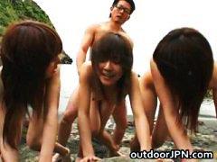 جنس: مجموعات, مص, يابانيات, بنات جميلات
