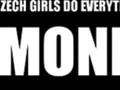 جنس: تشيكيات, مراهقات, خارج المنزل, مص