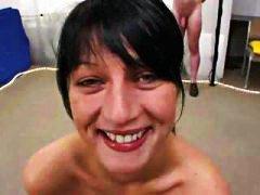 Porno: Näkku Purskamine, Teismeline, Seemnepurse, Sukad