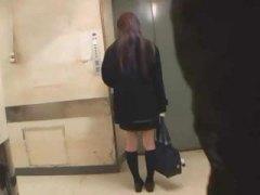 في المصعد