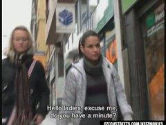 جنس: مص, في العلن, شقراوات, خارج المنزل