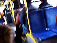 дркање у јавном превозу
