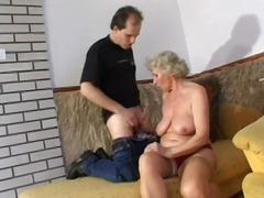 Porno: Ejakulācijas Tuvplāns, Laizīšana, Orālais Sekss, Vecmāmiņas