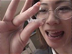 Porn: जापानी, लंड, स्कूल, सामूहिक स्खलन
