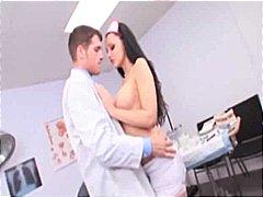 Porn: चूत में वीर्य, नर्स