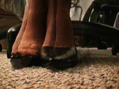 جنس: جوارب طويلة, حب الأرجل, نيك جامد