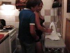 جنس: في المطبخ, شقراوات, هواه, ممتلئات
