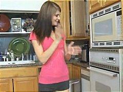 جنس: في المطبخ, نيك قوى, مراهقات, السمراوات