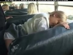 جنس: في الحافلة, بلع, آسيوى, يابانيات