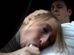 جنس: واقى, مص, في السيارة, صورة مقربة