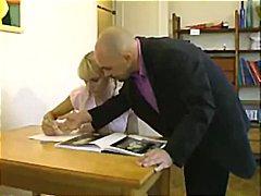 Porn: सुनहरे बाल वाली, भयंकर चुदाई, शिक्षक
