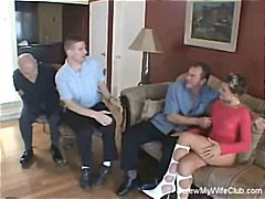 Pornići: Par, Uspaljen, Žena I Dva Muškarca, Grupnjak