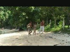 Sex in forest thai girl