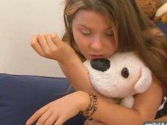 Porn: खिलंदड़ी, कपड़े उतारना, किशोरी, अकेले