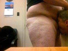 tlustý chlap gay