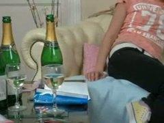 pijane nastolatki