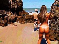 Порно: Смішні, Пляж