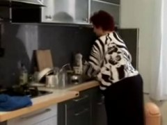 Πορνό: Κουζίνα, Χοντρή, Παχιά Γυναίκα, Γιαγιά