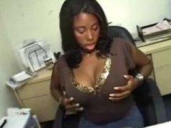 جنس: عمل, سكيرتيرات, نيك البزاز, في المكتب
