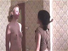 Pornići: Šopanje Po Guzi, Lezbejke, Lezbejke, Ženska Dominacija