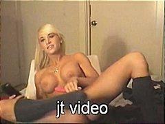 Porno: Vebkamera, Böyük Döşlər, Masturbasya, Masturbasya