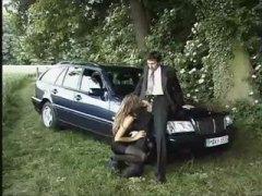 პორნო: მანქანა, სექსაობა, შავგრემანი, გარეთ