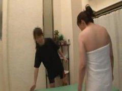 Porn: Masaža, Lezbijka, Starejše Ženske, Japonka