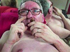 جنس: خبيرات, البصق في الفم, القذف, رجال كبار مع شابات