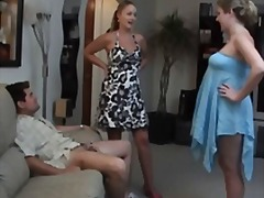 Porno: Aisankannattaja, Eksä, Naisdomina