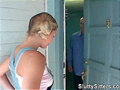 Lucah: Ketua, Remaja, Konek Besar, Rambut Blonde