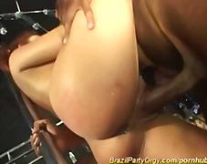 Porn: Orgija, Blondinka, Velik Kurac, Zabava