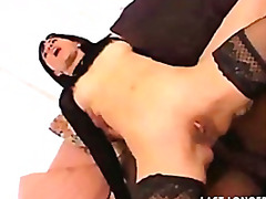 Porno: Wytrysk, Pończochy, Na Twarz, Obuwie