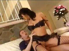 Porno: Brunette, Sperm, Avsugning, Suge, Avsugning, Suge