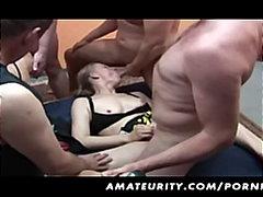 جنس: زوجان, الجنس فى مجموعة, شقراوات, السمراوات