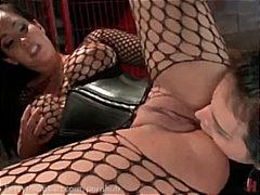 Porn: जालीदार, तीन प्रतिभागियों का सम्भोग