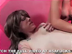 Asa akira fucks a ninja and a rocker chick
