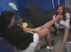 جنس: سحاقيات, نيك جامد, حب الأرجل, نايلون
