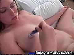 Porno: Xalaşka, Iri Planda, Iri Döşlü, Masturbasya