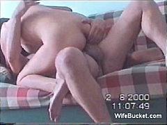 Porno: Paar, Kiimas, Brünetid, Kodus