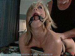 Porno: Bondage, Leketøy, Fetisj, Blond