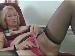 Porn: अकेले, मूठ मारना, सुनहरे बाल वाली