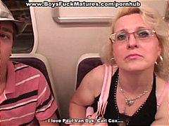 جنس: رجلان وامرأة, مص, شقراوات, خبيرات