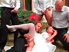 Porn: समूह, सामूहिक चुदाई, सुनहरे बाल वाली