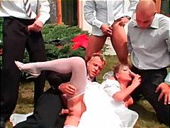 Porn: Grupni, Gangbang, Blondinka, V Javnosti