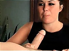 Ashley blue does a sloppy deepthroat blowjob dtd