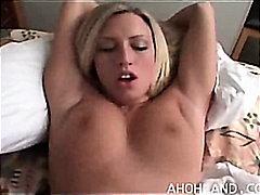 ポルノ: ハメ撮り, フェラチオ, 金髪, ハードコア