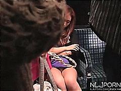 Porn: Avtobus, Med Spanjem, Japonka