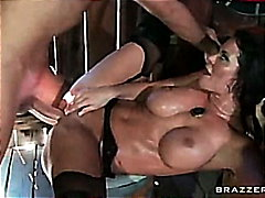 Savannah stern fucked in the poon saloon