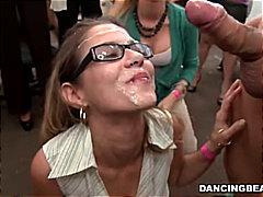 Porno: Eynəklər, Çalanşik, Sarışın, Sifətə Tökmək