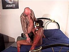 Porno: Melnādainās Meitenes, Zābaki, Orālais Sekss, Pāri